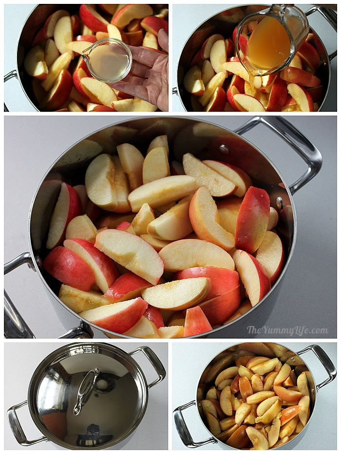 Stove Stop Fruit & Spice Applesauce Blends