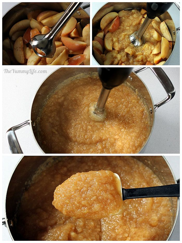 blending Fruit & Spice Applesauce Blends