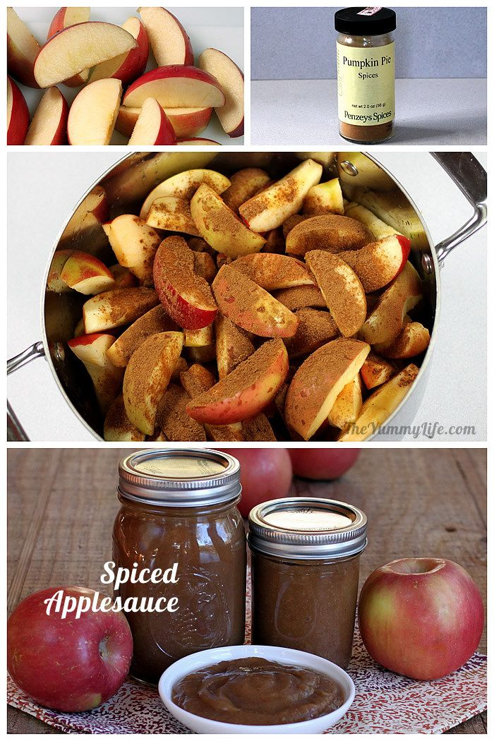 Spiced Applesauce
