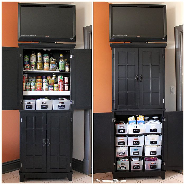 Instant Diy Pantry Cabinet Get Organized With This Easy Kitchen Storage Solution
