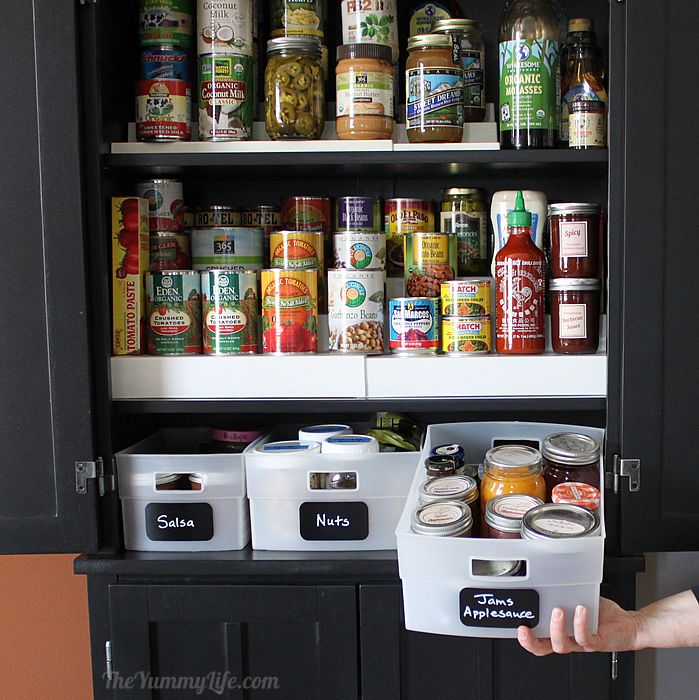 Kitchen Storage Solutions Diy: Instant DIY Pantry Cabinet