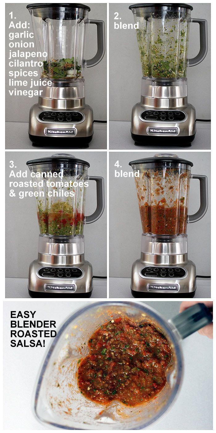 blender roasted salsa