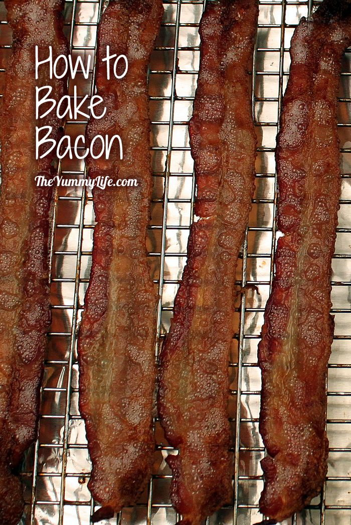 how to bake bacon - Ina Garten Baked Bacon