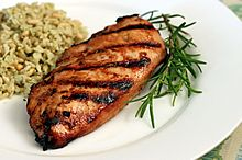 Grilled Raspberry Rosemary Chicken