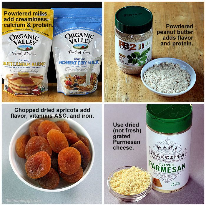 6 Instant Meals-On-The-Go Ingredients