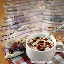 Healthy Instant Oatmeal Packets