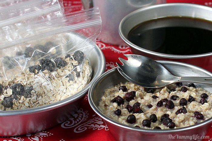 DIY Instant Oatmeal for Backpacking