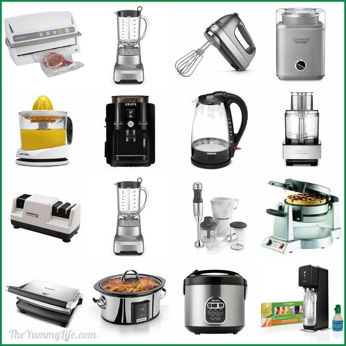 superior List Of Small Kitchen Appliances #1: 15 Awesome Small Kitchen Appliances. For your own wish list or as a gift  guide