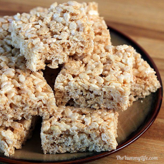 Crispy Brown Rice Treats