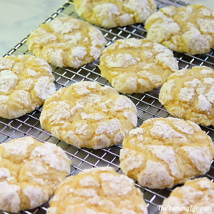 Butter cookie recipe with butter cake mix