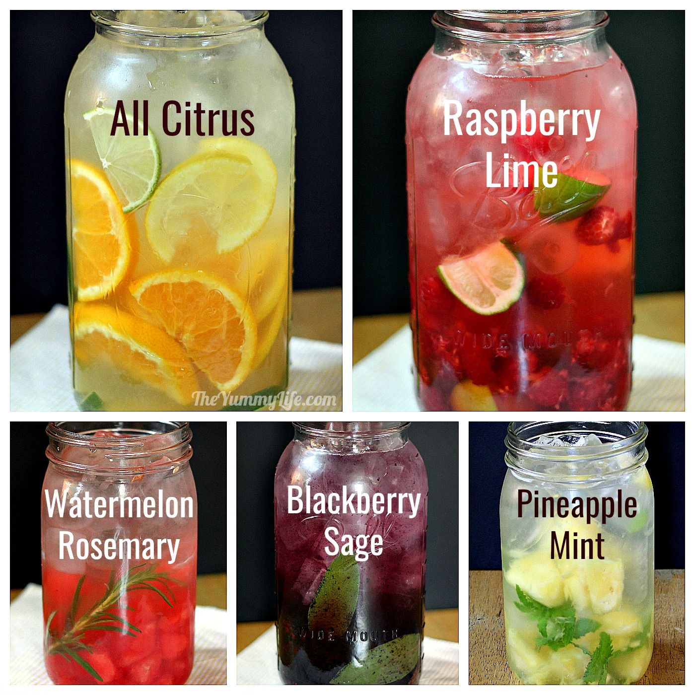 How To Make Natural Flavored Water