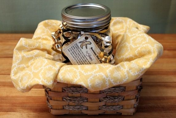 Banana Oat Nut Bread Gift Jar Mix