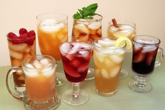 Flavored Refrigerator Iced Tea
