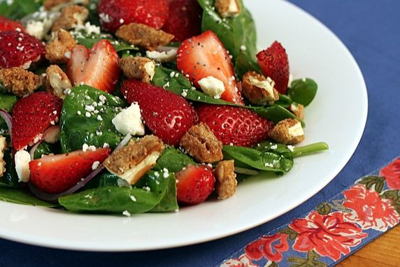 The perfect summer salad--beautiful, refreshing, and delicious!