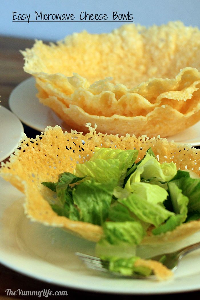 These delicious, fancy-looking salad bowls couldn't be easier to make. Jazz up a salad while impressing your family and guests.