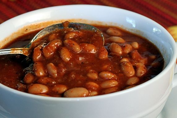 Pinto Beans in Chili Sauce (vegetarian)
