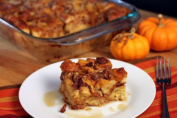 This is an easy, make-ahead breakfast or dessert; perfect for autumn or winter.