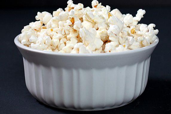 Healthy Microwavable Popcorn, Healthy Junk Food