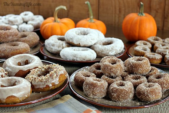 ... donuts or muffins with maple glaze or sugar spice coating; gluten free