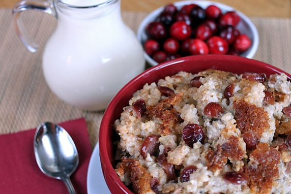 Make this the night before and wake up to the wonderful aroma of this nutritious, delicious, ready-to-eat breakfast. The hearty ingredients make this a healthy power house that will help you beat the hungries all morning. This is a festive, delicious combination of flavors for the holiday season.