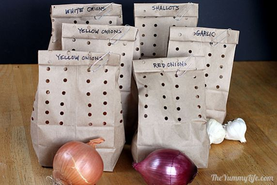 Onions, Garlic & Shallots--storage