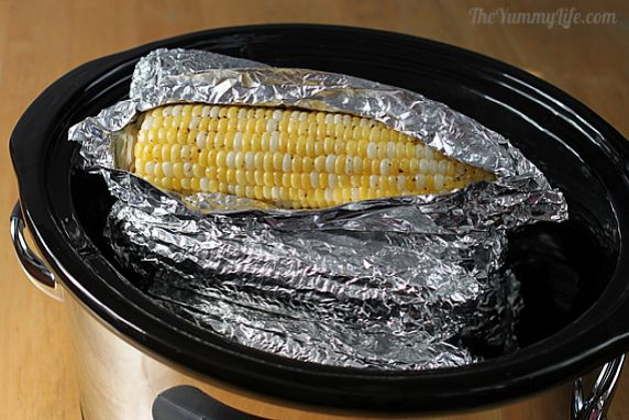 This is an easy, healthy way to cook moist, tender, flavorful corn on the cob.