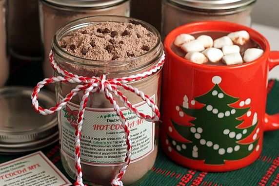 Hot Chocolate In A Jar Present