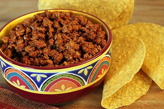 This mix is a healthier, tastier alternative to those packets from the grocery store. It can be used to season ground beef or turkey, and also used as a dry rub for fajita meat. Makes great meat fillings for tacos, nachos, quesadillas, and more.