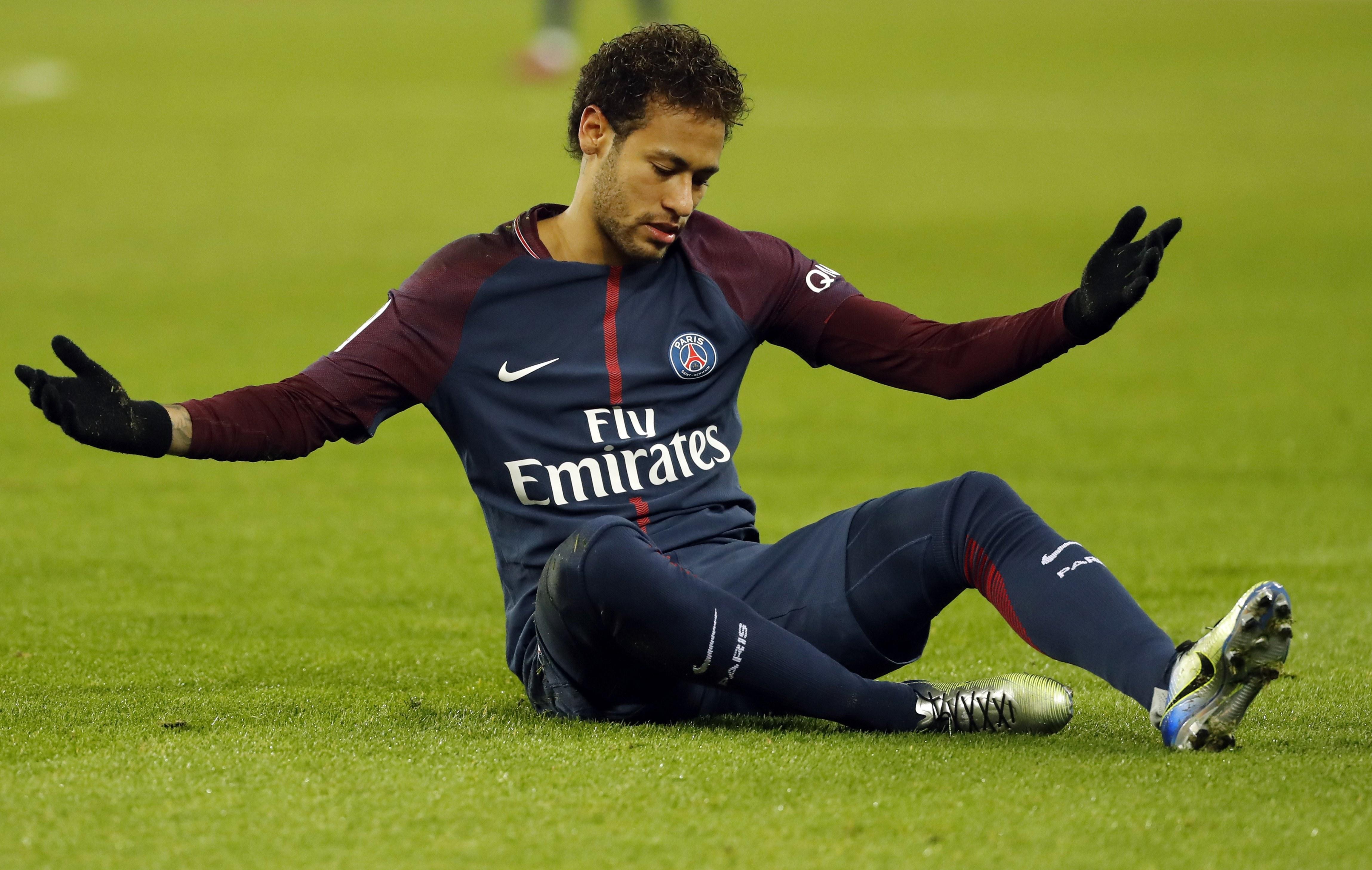 Neymar reanuda su recuperación en el centro de entrenamiento del PSG ...