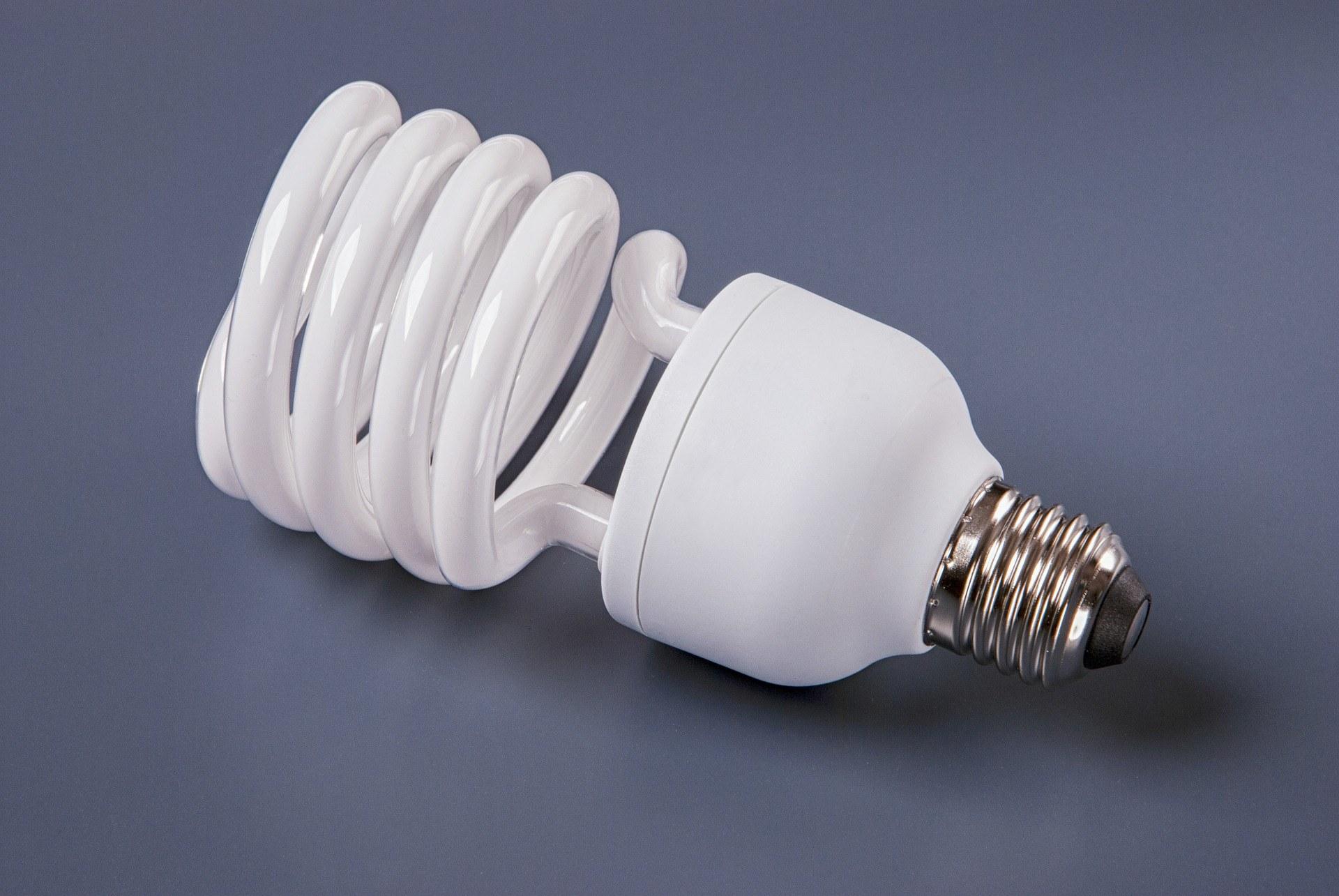 Domínguez Brito pide prohibir la importación de bombillas fluorescentes