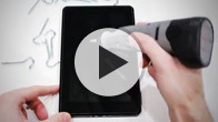 Amazon Kindle Fire invisibleSHIELD Screen Scratch Test Video