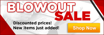 Discounted items on blowout 