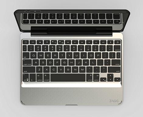 Slim Book Aerial View of Keyboard