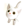 Cat Banker (White)