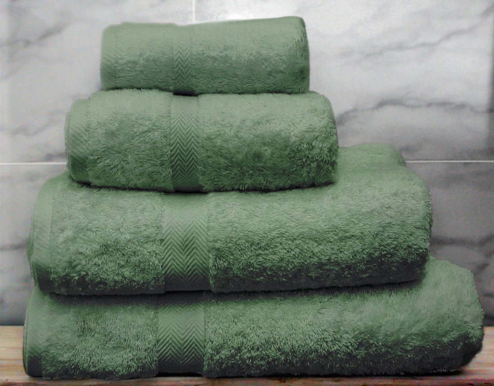 green egyptian cotton towel bale - Egyptian Cotton Towels