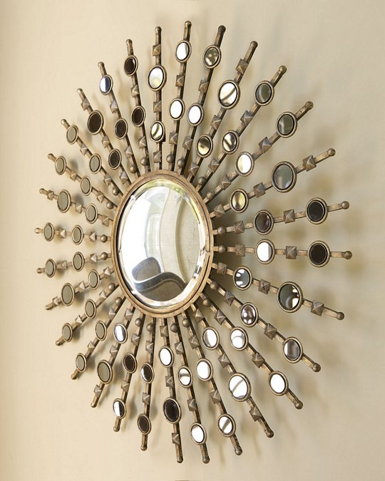 Sunburst Wall Mirror round starburst wall mirror | ebay