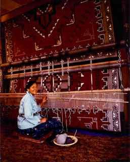 Mae Jim's Ganado Red Weavings