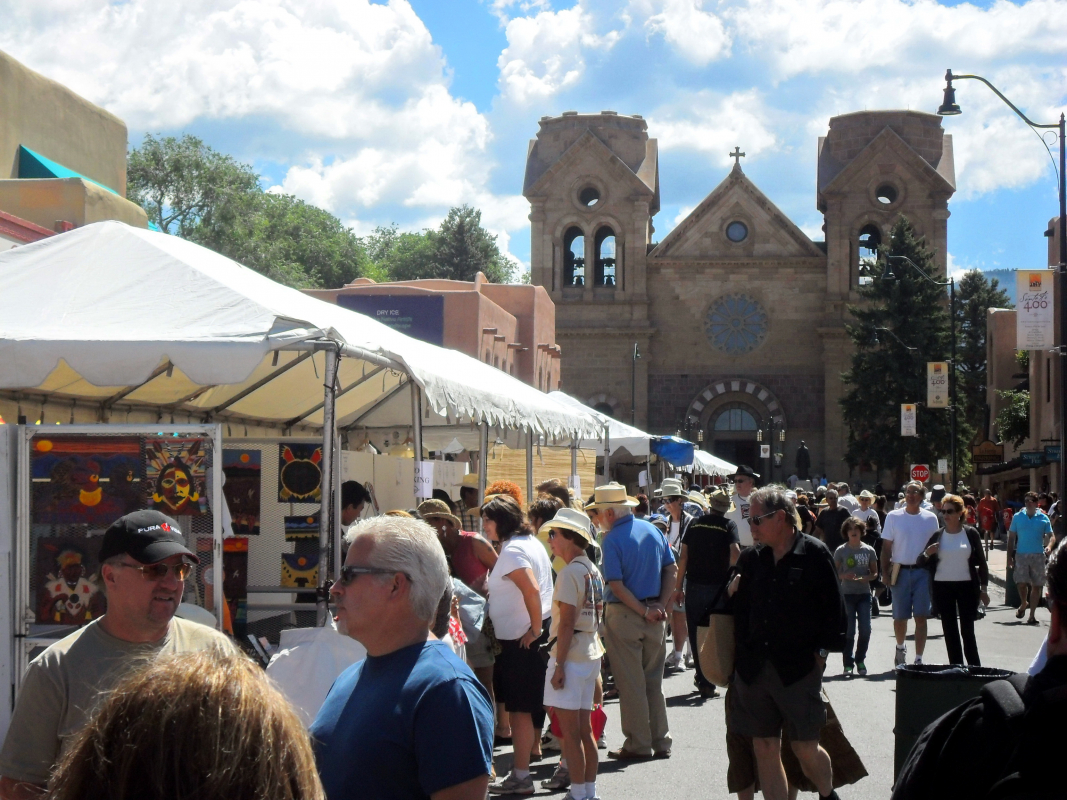 Santa Fe's Indian Market Week and What We Bring to the Party!