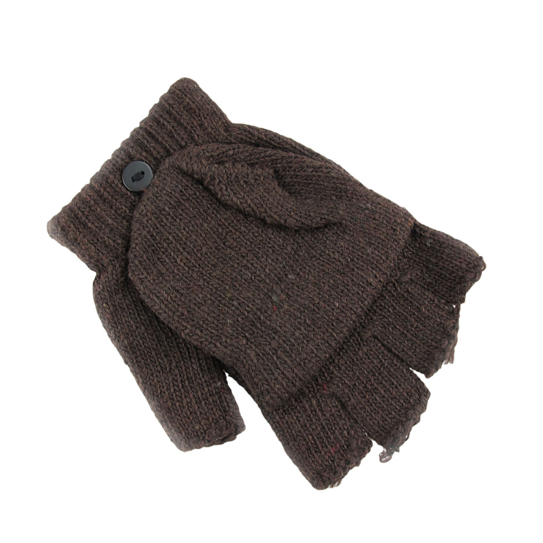 Knitting Pattern For Texting Mittens : Knit Convertible Texting Mittens Gloves Smoker eBay
