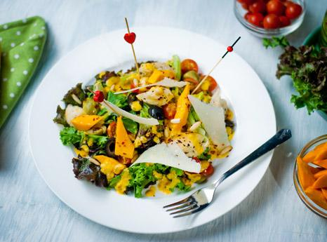 Mango Ceaser Salad