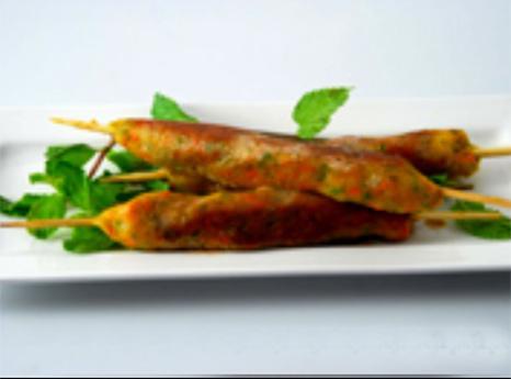 Vegetable Nizami Seekh