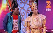 Comdey skit performed by Santosh Pawar, Bhau Kadam, Hemangi Kavi, Shreya Bugde, Kishor Chaugule
