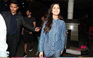 Fitoor Actors Aditya Roy Kapoor And Katrina Kaif Spotted At Mumbai Airport - February 10, 2015 | Bollywood Life