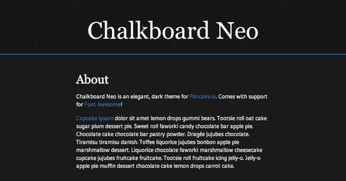 Chalkboard Neo Theme