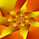 Paper flower #2,  79K