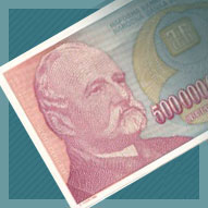 Yugoslavia 500 Billion Dinara