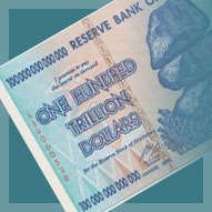Zimbabwe 100 Trillion Dollar Banknote