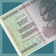 Zimbabwe 50 Trillion Dollar Banknote