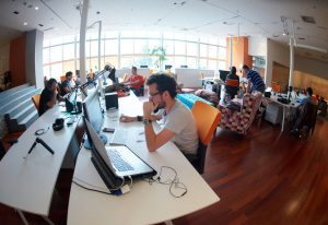 Coders come from all backgrounds and work for all kinds of companies.