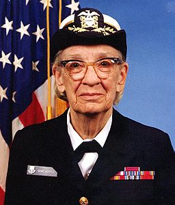 Commodore Grace Hopper, 1984